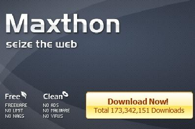Maxthon Tabbed Free Web Browser